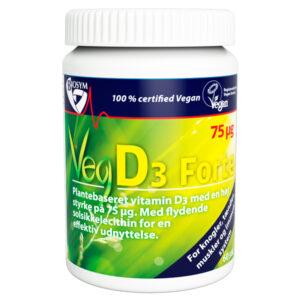 Stærk D-vitamin, vegansk