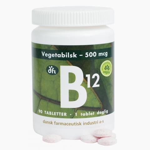 b12-vitamin 500 µg vegetabilsk