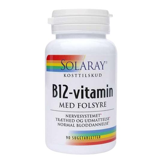b12-vitamin 1000 med folsyre