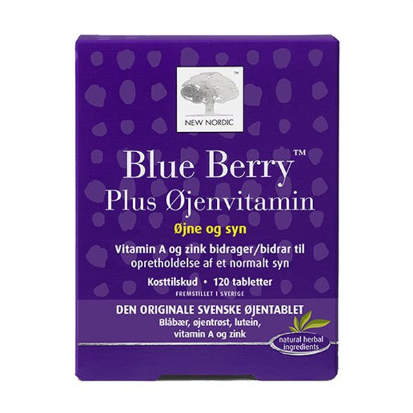 blue berry plus oejenvitamin