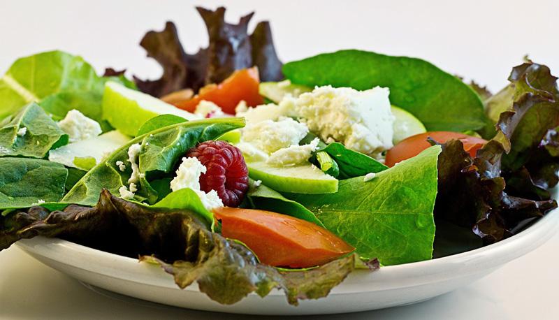 Salat rig på calcium