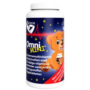 OmniMINI — multivitamin til børn