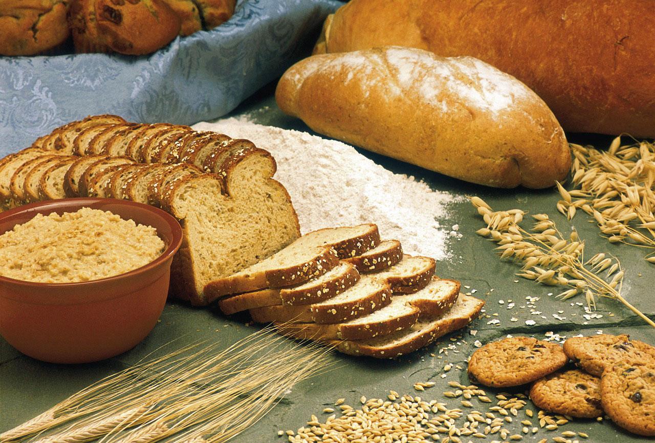 brød og fuldkornsbrød